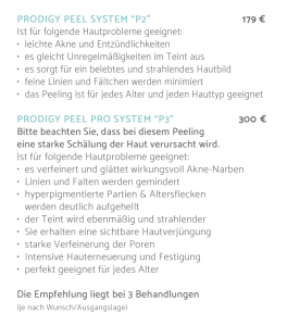 iS Clinical –iS Clinical Prodigy Peel Prodigy PeelAesthetics freiburg, Kosmetikstudio