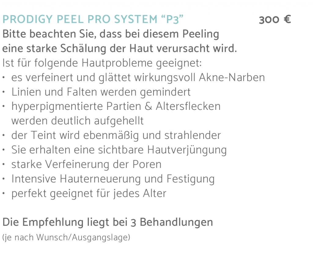 iS Clinical –iS Clinical Prodigy Peel Prodigy PeelAesthetics freiburg, Kosmetikstudio